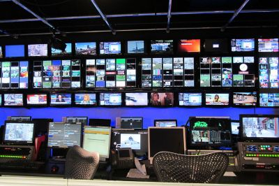 A large-scale example of the technology CHSTV uses for its daily broadcasts. Photo courtesy of Skeezix1000   Wikimedia Commons.