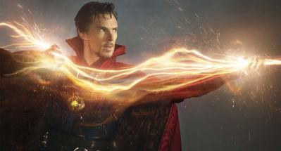 "Benedict Cumberbatch is ""Doctor Strange"" (photo by Entertainment Weekly)"