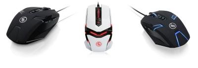 The iOGEAR KALIBER line of Gaming Mice (iOGEAR)