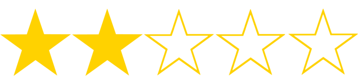 2-stars-out-of-5