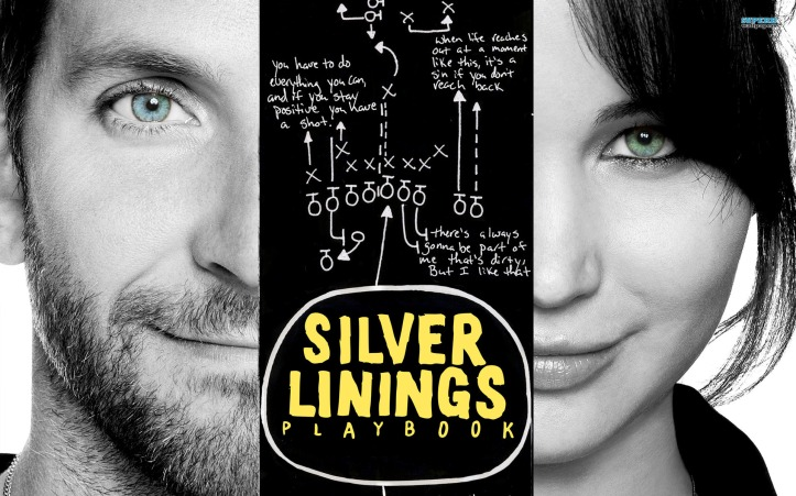 The Silver Linings Playbook, starring Bradley Cooper and Jennifer Lawrence