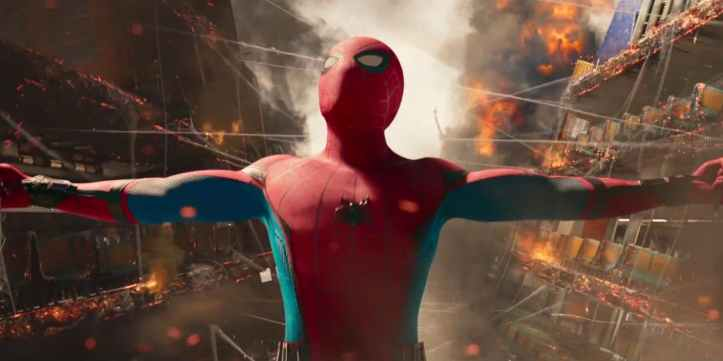Peter-Parker-saves-the-ferry-in-Spider-Man-Homecoming