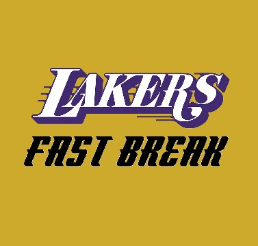 lakers fast break logo 3