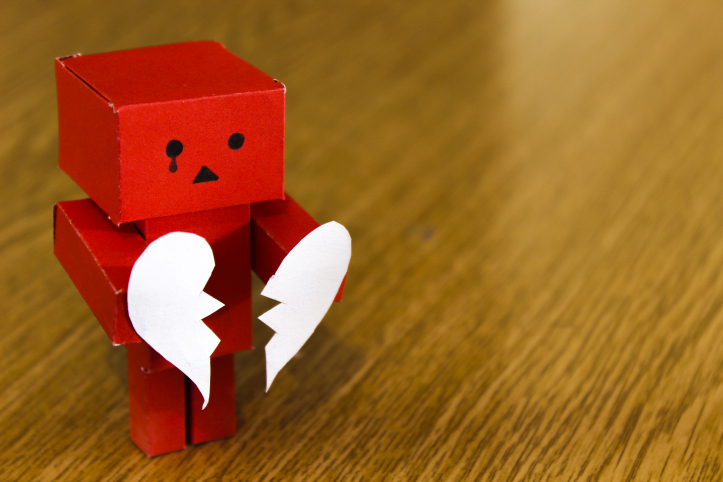 Sad Face Broken Heart